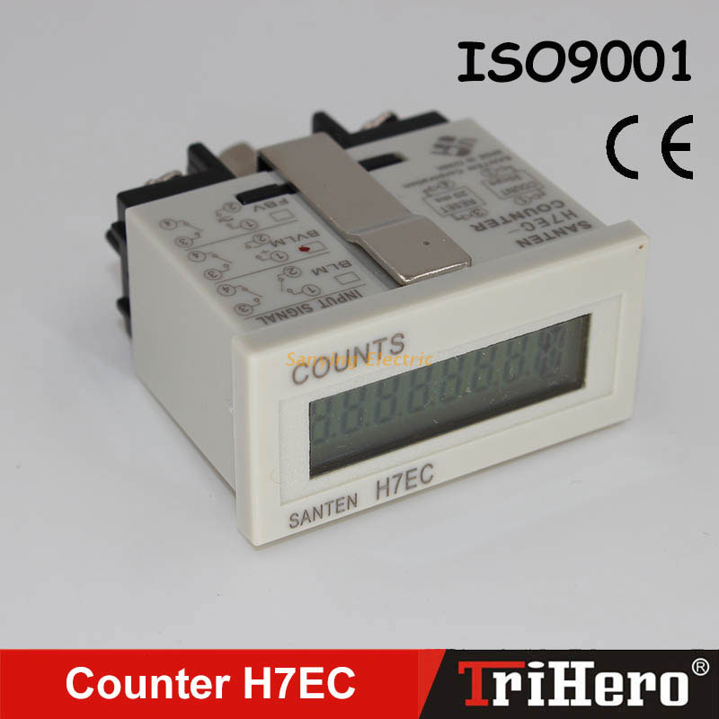 LCD display Counter H7EC