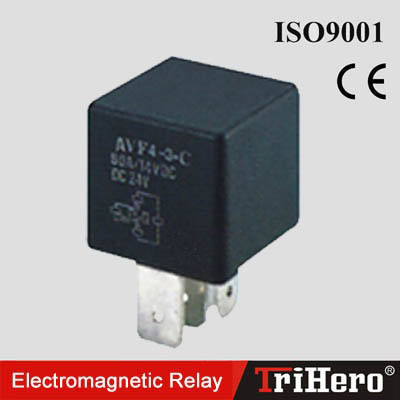 AVF4-3 Mini Electromagnetic Relay