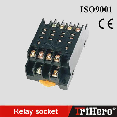 Relay socket PTF14A